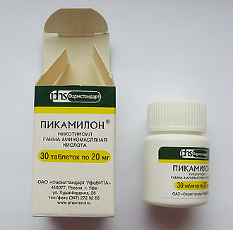 Picamilon - Picamilon 20 mg from Russia