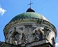 Pidhirtsi Brodivskyi Lvivska-church of Sainted Joseph-dome.jpg