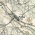 Pidlisne (Rudnia), 1910—1916, map.jpg