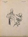 Pierre Paul Émile Roux. Lithograph by J. Veber. Wellcome V0005124.jpg
