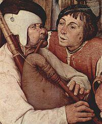 Id. Pieter Bruegel: Paraszttánc, részlet, 1568