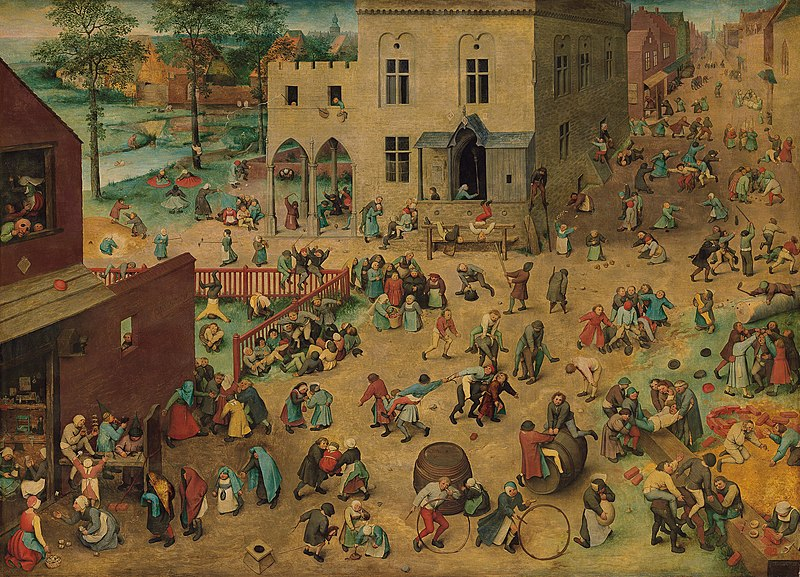 피터 브뤼겔, 아이들의 놀이