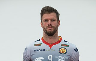 Pieter Verhees Belgian volleyball player