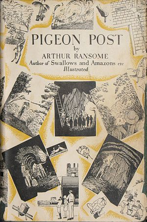 Pigeon Post - Front cover of first edition