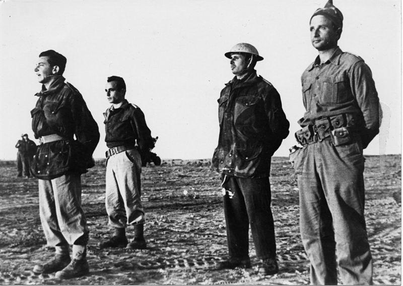 מבצע חורב - מפקדת הגדוד התשיעי במסדר היציאה