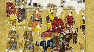 Piri Mehmed Pasha - A miniature of Piri Mehmed Pasha