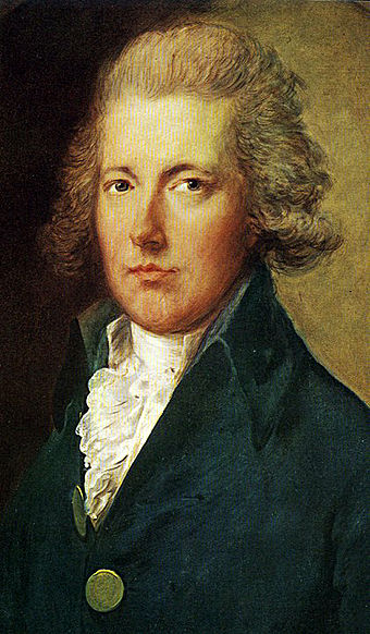 William Pitt the Younger was to become Prime Minister at a young age and lead Britain for more than twenty years. Pitt the Younger.jpg