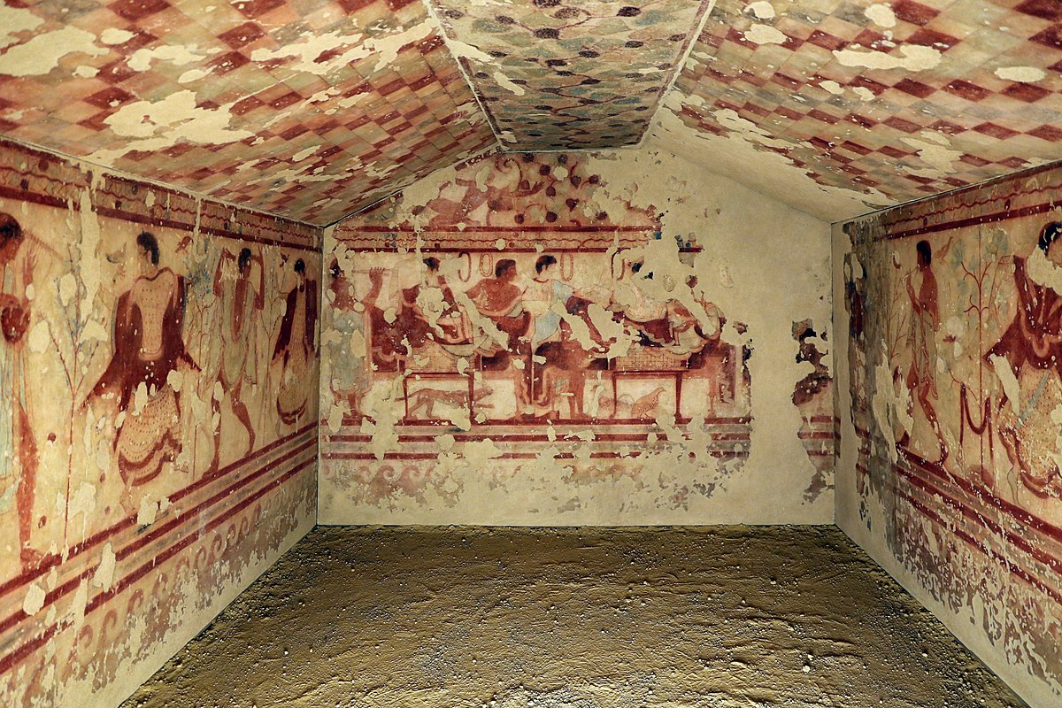 Tomb Of The Triclinium Wikipedia