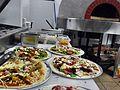 Pizzas prior to cooking - Sandbar Restaurant Mission Beach.jpg