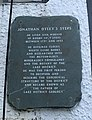 Plaque at Jonathan Otley's steps.jpg