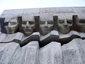 Kraków-Płaszów concentration camp - Płaszów Memorial (erected in 1964)