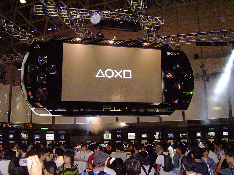 Portable Exhibition Quiz : File playstation portable booth tokyo game show