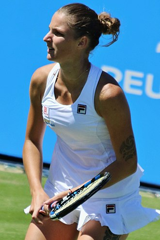 Karolína Plíšková - Karolína Plíšková at the 2017 Aegon International Eastbourne