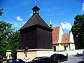 Podolí, Pod Vyšehradem, kostel svatého Michaela, zvonice.jpg