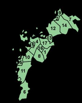 Österbottens kommuner
