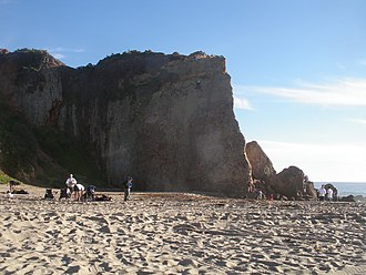 Point Dume - Image: Point Dume Climbing