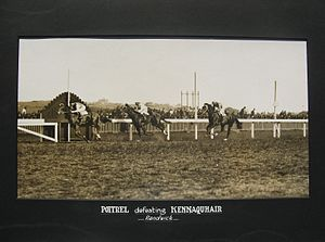 Queen Elizabeth Stakes (ATC) - Image: Poitrel 1920 AJC Randwick Plate Trainer Harry Robinson