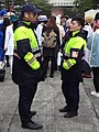 Police officers of TCPD Da'an Precinct in front of NTUSC 20181208.jpg