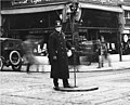 Policeman, probably directing traffic, Seattle, Washington, March 7, 1922 (LEE 123).jpeg