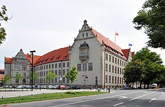 Wrocław University of Science and Technology - Main building
