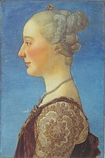 Pollaiuolo, Antonio del - Portrait of a Lady - Uffizi.jpeg