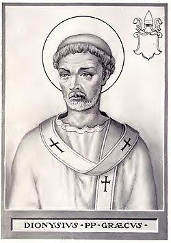 Pope Dionysius Illustration
