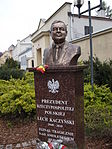 Popiersie Lecha Kaczyńskiego w Grudziądzu.JPG