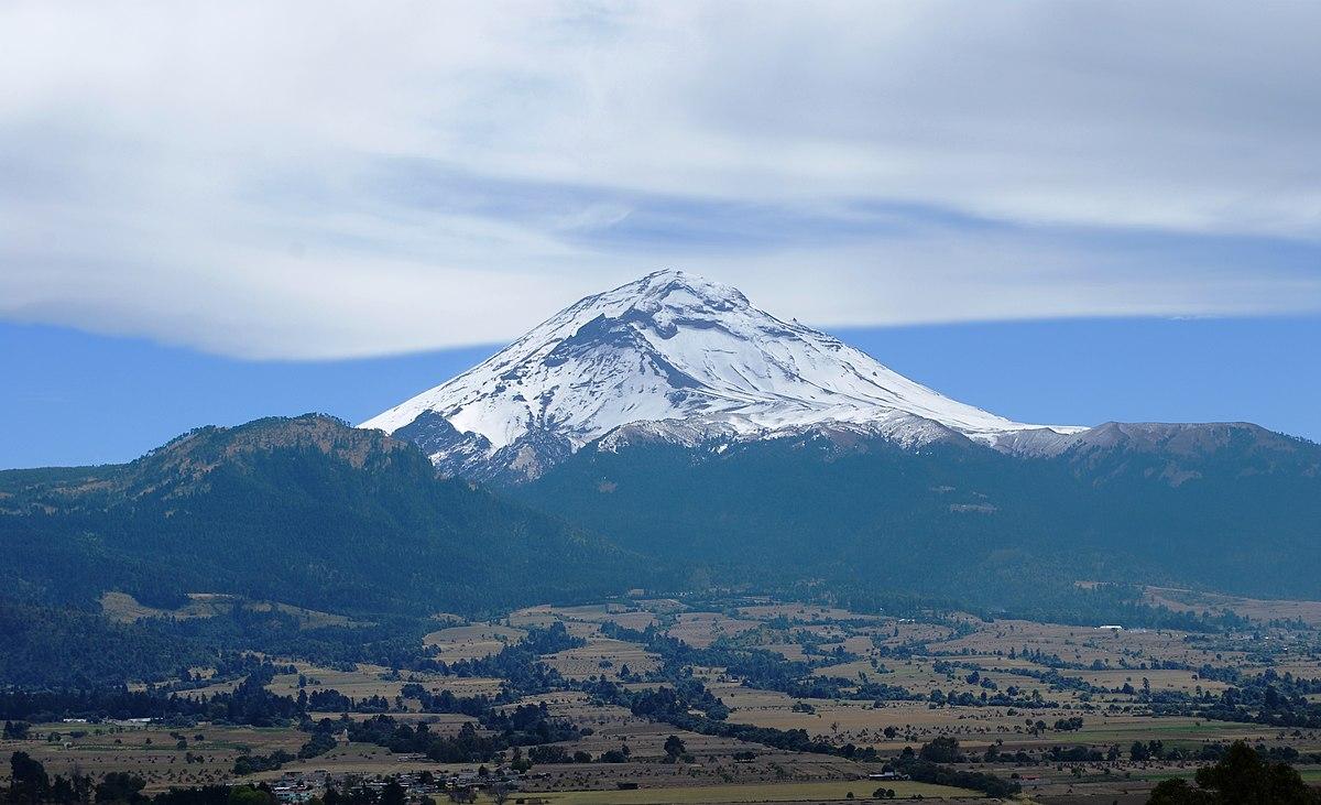 Volcán Popocatépetl, alias El Popo o Don Goyo