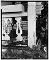 Porch railing detail - Colonel Thompson House, 603 Front Street, Beaufort, Carteret County, NC HABS NC,16-BEAUF,10-4.tif