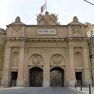 Emanuele Luigi Galizia - Victoria Gate in Valletta