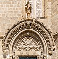 Portal above entrance to Haydarpasha Mosque, Nicosia, Cyprus 02.jpg
