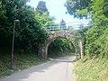 Portoroz, overpass over the Parenzana route 01.jpg