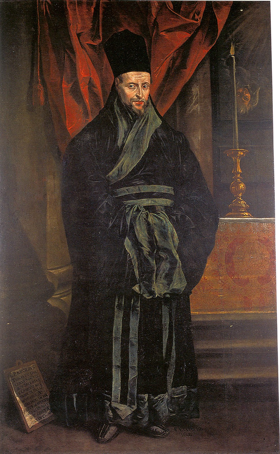 Portrait Painting of Nicolas Trigault