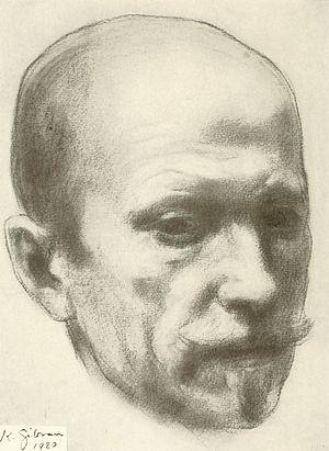 Johan Bojer - Portrait of Johan Bojer, 1920