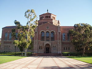 University of California, Los Angeles Library - Image: Powell Library, UCLA (front view)