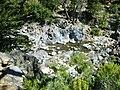 Pozones del Río Claro desde las alturas en Radal Siete Tazas.jpg
