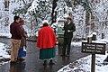 Practicing for Christmas Memories Walk, December 2017--Warren Bielenberg (26262268678).jpg