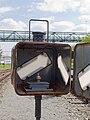 Praha-Smíchov seřaďovací nádraží, výhybka se svítilnou.jpg