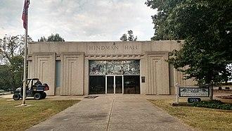 Thomas C. Hindman - Hindman Hall museum and gift shop at Prairie Grove Battlefield State Park