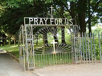 Muirhead, North Lanarkshire - Entrance to St. Barbara's
