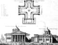Premier projet du Panthéon Soufflot (1756).png