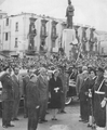 President Camille Chamoun and Zelpha Tabet visiting Riad al Solh sq - 22 November 1957.png