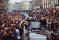 President Kennedy greets spectators during trip to Ireland.jpg