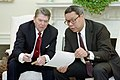 President Ronald Reagan and Colin Powell.jpg