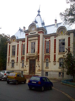 Dorohoi town hall