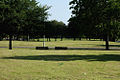 Princess Park and benches in Moss Side, Manchester, UK.jpg