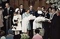 Prins Constantijn en Prins Bernhard worden gedoopt in Domkerk, Utrecht vlnr Mar, Bestanddeelnr 254-8617.jpg