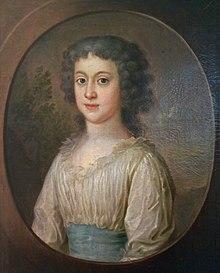 Prinzessin Henriette von Nassau-Weilburg um 1797, gemalt von Johann Schlesinger (Quelle: Wikimedia)