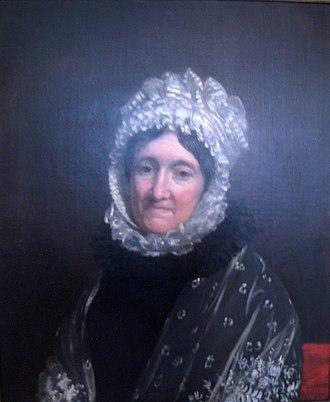 Thomas Melvill (American patriot) - Portrait of Priscilla Scollay Melvill, wife of Thomas Melvill, by Francis Alexander, 1820s