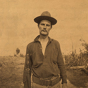 Battle of Manila (1899) - Private William Walter Grayson who fired the first shots in the Battle of Manila (1899).